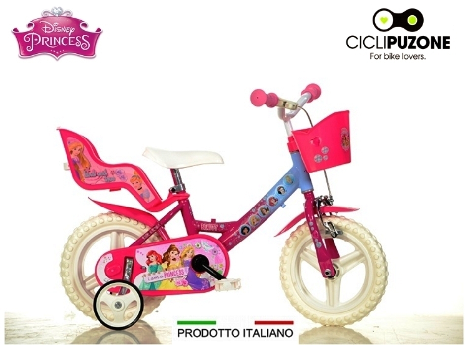 BICI 12 PRINCESS DISNEY