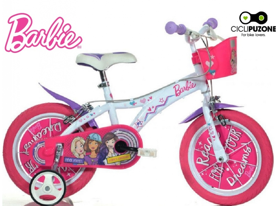 BICI 16 BARBIE NEW