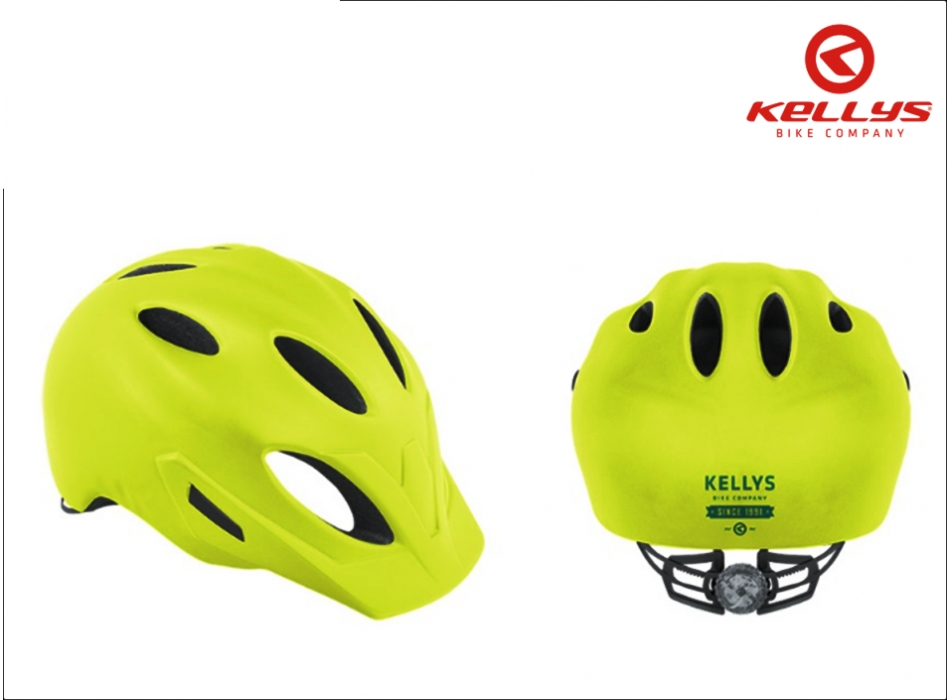 CASCO SLEEK 2018 GIALLO NEON