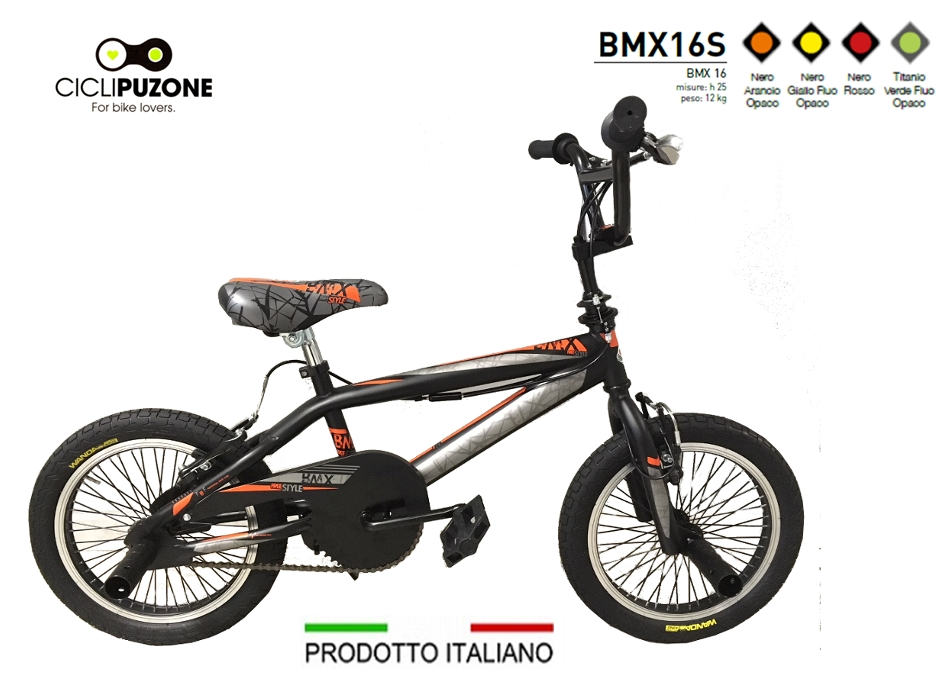 BICI 16 BMX-FREESTYLE