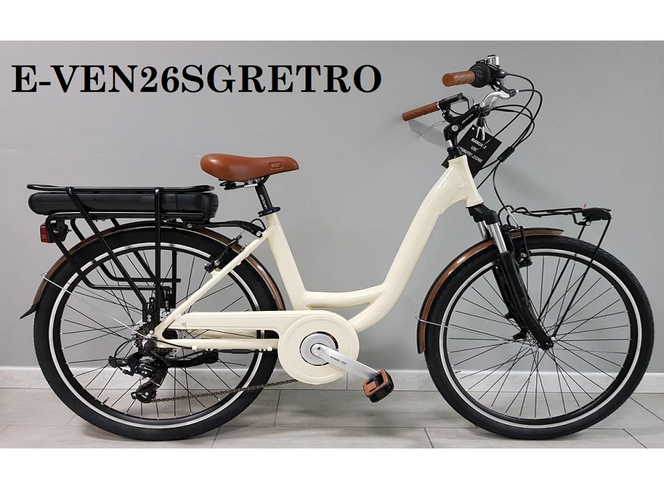 E-BIKE 26 VENERE RETRO 6V
